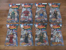 NEW Street Fighter figure lot Ryu Ken Sagat Guile Akuma Mr. Bison Jaswares 2005