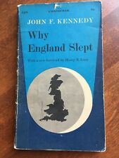 Why England Slept by John F. Kennedy 1962 Dolphin Books Edition Paperback Rare