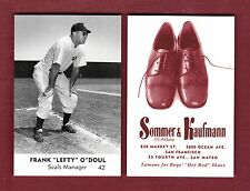 1950 Sommer & Kaufmann: LEFTY O'DOUL, Seals/PCL (2015 Carl Aldana commemorative)