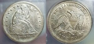 1859 O $1 Seated Liberty Silver Dollar ICG MS 61