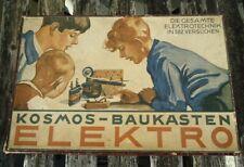 KOSMOS Baukasten = ELEKTRO = Elektrotechnik = 1930/40er Jahre