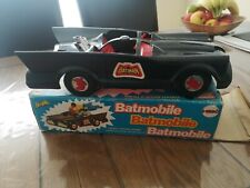Mego Batman's BATMOBILE with RARE box used toy vintage 1974 collectable