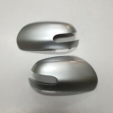 3D Bright Silver Painted Side Mirror Cover LH RH  For 2008 2011 Kia Forte