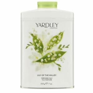 Yardley London Lily of the Valley Perfumed Talc Perfume 200g 7oz