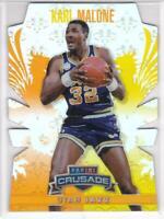 2013-14 Panini Crusade #/99 Karl Malone Utah Jazz Basketball Card