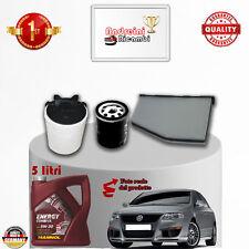Filtres Kit D'Entretien + Huile VW Passat VI 1.6 16V 75KW 102CV à partir de 2005