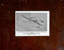 Black and white large gum card by Somportex  Thurnderbirds No.17. small size