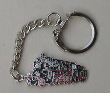 Schlüsselanhänger Baureihe 58 Dampflok schwarz/rot/silber 3,5cm (S13)
