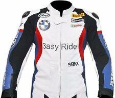 BMW-Men/Women-Motorbike/Motorcycle Leather Jacket Racing Biker-MotoGp (Replica)