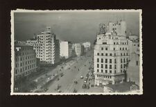 Romania BUCURESTI Bulevardul i.c.Bratianu Used 1937 RP PPC