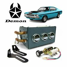 1960-76 Mopar A-Body Compact 12V Auxiliary Under Dash Cab Heater Demon