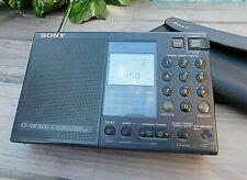 Vintage SONY ICF-SW7600 Stereo World Receiver Radio & Original Case