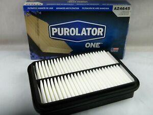 Engine Air Filter Purolator One A24645