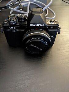 Olympus OM-D E-M10 Mark II 16 MP Mirrorless Digital Camera - Black