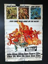"The Dirty Dozen (1973) - Original One Sheet Movie Poster - 27"" x 41"""