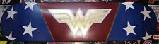 Original Painted Wonder Woman Kustom Art Skate Deck. Cool!