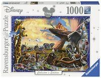 RAVENSBURGER 19747 EL REY LEON PUZZLE DISNEY EDICION COLECCIONISTA 1000 PIEZAS