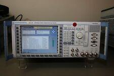 Rohde Schwarz CMU200 & GSM, WCDMA, C2K, EVDO Audio, Loaded, Calibrated Warranty