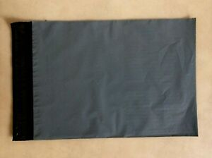 """A4 Large letter Grey Poly Postal Bags Parcel Bags 230X310mm (9X12"""") Mailing Bags"""