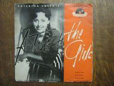 CATERINA VALENTE EP GERMANY SECRET LOVE