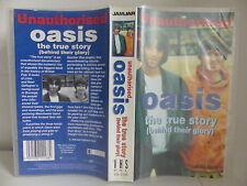 K7 Video VHS OASIS The true story behind their glory Unauthorised JAMJAR VSL0106