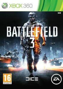 Battlefield 3 Bad Company 1/2 Video Games Microsoft Xbox 360 in Good Condition