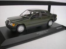 1 43 Minichamps Mercedes 190e W201 1982 greenmetallic