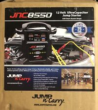 Jump N Carry JNC8550 Capacitor 12v 550 Amps Portable Battery Jump Starter