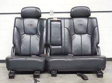 Ssangyong Rexton Rücksitzbank Leder Rücksitz Sitz Sitze hinten schwarz Bj2005