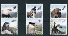 Curacao 2014 MNH Birds of Prey 6v Set Eagles Falcons Fauna Stamps