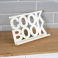Cook Book Stand Cream Metal Kitchen Recipe Cooking Display Rest By Home Discount