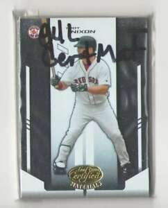 2004 Leaf Certified Materials (1-200) - BOSTON RED SOX Team Set
