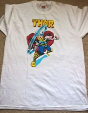 Marvel Official Thor Classic T Shirt large L white