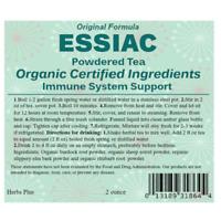 Essiac Tea Powder Original Formula 2 Ounce Organic & Kosher Certified