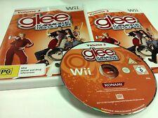Glee Karaoke Revolution Volume 3 Nintendo Wii