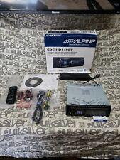 Alpine CD/HD Receiver With Advanced Bluetooth CDE-HD149BT