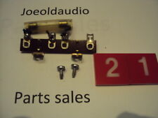 Fisher 203 Original Chassis Fuse w/ Mounting Hardware. Parting Out 203 Receiver.