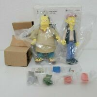 Playmates The Simpsons WOS Cooder and Sinclair mail-away new