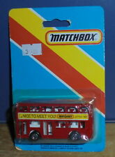 Matchbox Superfast MB17 London Bus Nice To Meet You Japan 1984