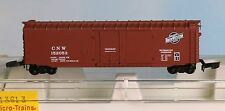 Micro Trains 13613, Spur Z, CNW, 50´Standard Boxcar, für Märklin Miniclub