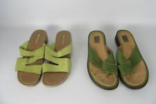Lot of 2 Women's Shoes US 7.5 EU 38 Naturalizer & KB & Company Sandals