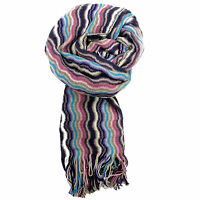Sciarpa Missoni Fantasia Made in Italy Donna Fucsia 4852.var002