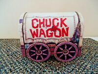 "Vintage Chuck Wagon Metal Tin "" BEAUTIFUL COLLECTIBLE DISPLAYABLE ITEM """