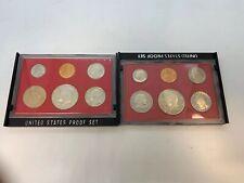 1981 & 1982 US Mint Proof Set  Free Ship
