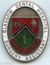 Glasgow Dental Hospital Surgery Assistant  Nursing Badge