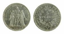 s391_5) Francia  5 Francs Hercule 1875 A