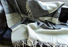 """laine couverture """" rombus """", PLAID COUVRE-LIT 130x180cm, 100% mérinos"""