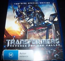 Transformers Revenge Of The Fallen (Aust Region B) 2 Disc Blu-Ray – Like New
