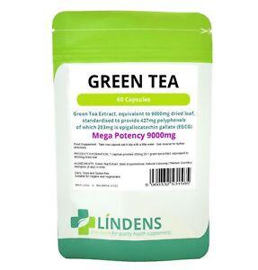Green Tea 9000mg -high strength fat burner, weight loss-120 capsules