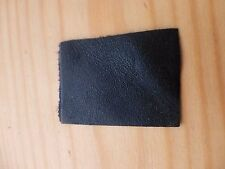 1 GOAT LEATHER BOW PAD, BLACK, REPAIR YOUR BOW, VIOLIN, CELLO ETC. UK SELLER!